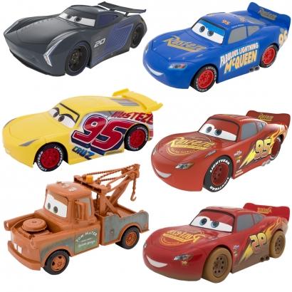 Carrinho de Fricção Infantil Carros 3 Diversos Modelos Para +3 Anos - Toyng