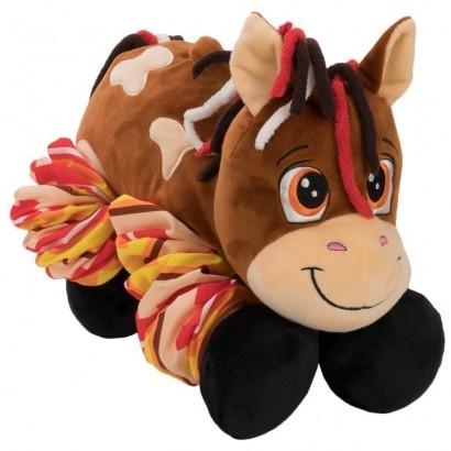 Cavalo De Pelúcia Boing Longs Pernas Esticam 4729 Dtc