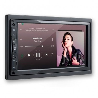 Central multimidia DVD Evolve Link 7 Polegadas com GPS - Multilaser