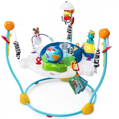 Centro de Atividade Bebê Jumper Interativo Musical 6 meses Até 11Kg 12 Atividades Portátil Journey Of Discovery Baby Einstein