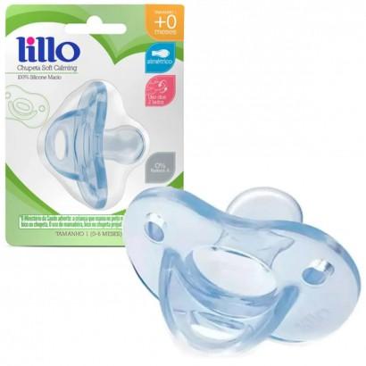 Chupeta Para Bebê Lillo Soft Calming 0 a 6 Meses 100% Silicone