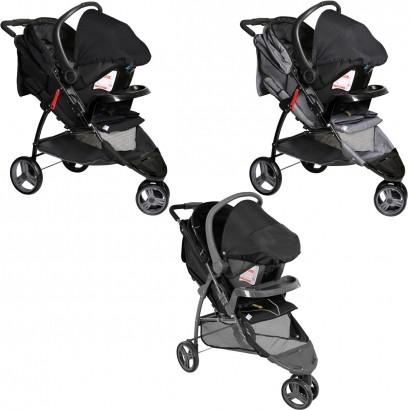 Conjunto Carrinho de Bebê Cross Trail Recem Nascido a 15kg com Bebê Conforto Cocoon De 0 a 13kg - Galzerano
