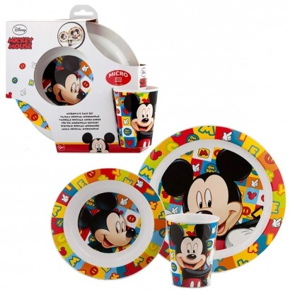 Conjunto de Alimentação Mickey Disney  Lillo