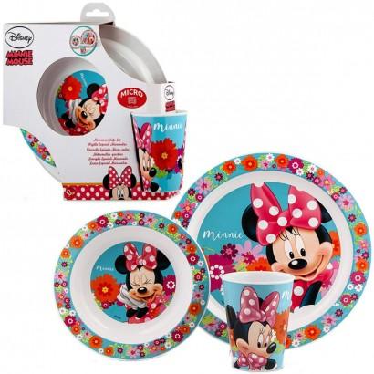Conjunto de Alimentação Minnie  Disney Lillo