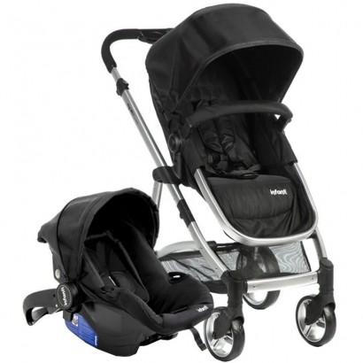 Conjunto do Bebê Travel System Epic Lite Duo com Carrinho + Bebê Conforto e Base - Infanti