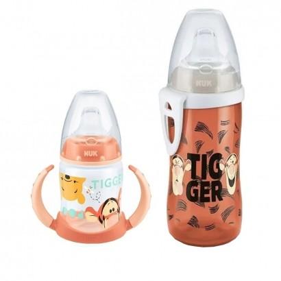 Conjunto Infantil Copo Active Cup Disney Pooh 300ml + Copo de Treino do Bebe Pooh e Tigrão 150ml Nuk