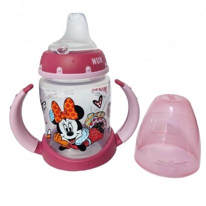 Copo de Treinamento Infantil Bebê Acima dos 6 Meses 150ml Nuk Disney By Britto Girl