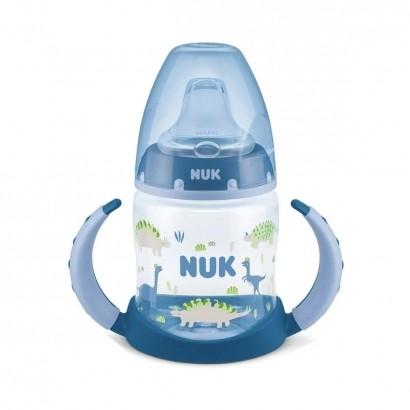 Copo de Treinamento Infantil Bebê Antivazamento A Partir de 6 Meses Criança Com Alça Nuk 150ml Bico Silicone Azul