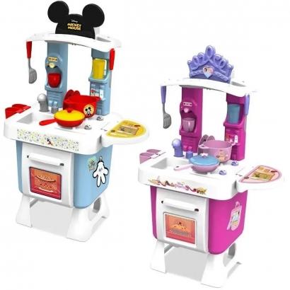 Cozinha Infantil Criança A partir dos 3 Anos Com acessórios e Adesivos Xalingo