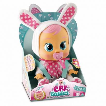 Boneca Cry Babies Coney Que Chora de Verdade Para Bebe - Multikids