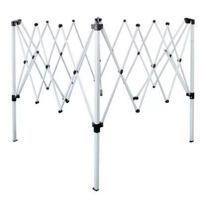 Estrutura De Alumínio Para Tenda Gazebo Articulado 2,40 x 2,40 Metros