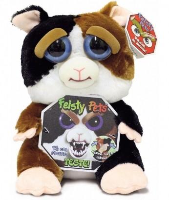 Feisty Pets Pelúcia Tico Trovoada Hamster Mal Humorado Dtc
