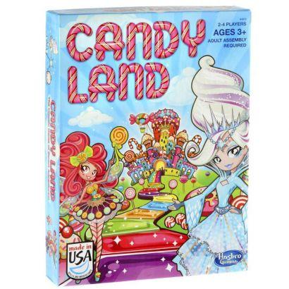 Jogo Candy Land +3 Anos De 2 a 4 Jogadores