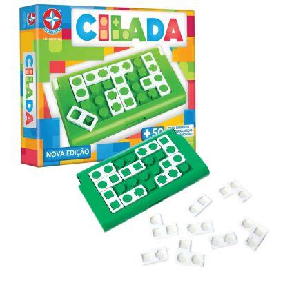 Jogo Infantil Cilada Nova Edição +6 Anos Estrela