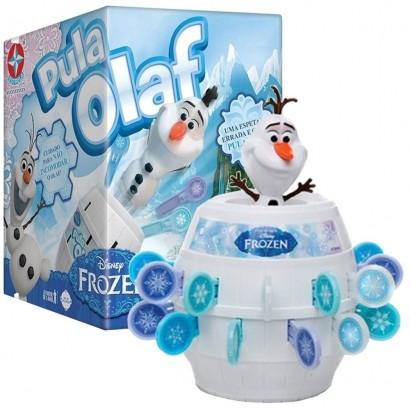 Jogo Para Bebe Criança Pula Olaf de 2 a 3 Jogadores - Estrela
