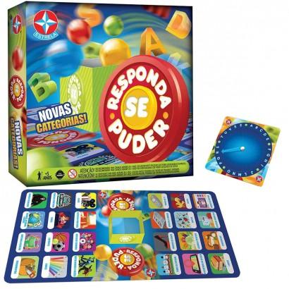 Jogo Para Crianças Responda Se Puder +5 Anos Estrela