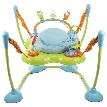 Jumper Bebê Play Time Azul Assento Giratório Com Luz E Sons Safety 1st IMP91303