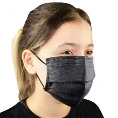 Kit 100 Mascaras de Proteção Fácil Tnt