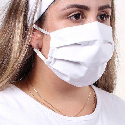 Kit 100 Mascaras de Tecido Para Proteção