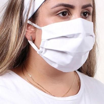 Kit 200 Mascaras de Tecido Para Proteção