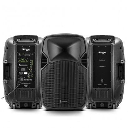 Kit 2 Caixas Pw 600 Wireless Ativa + Passiva Frahm 1200w Rms