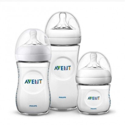 Kit 3 Mamadeiras Pétala 125, 260 e 330 Ml Philips Avent