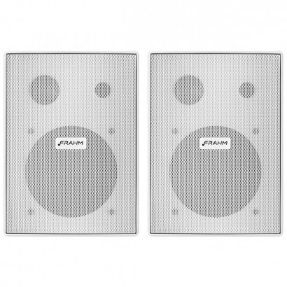 Kit 3 Pares Caixa Acustica Som Ambiente 60w Ps200 Plus Frahm