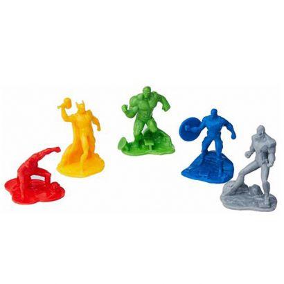 Kit Com 40 Bonecos  De Plástico Vingadores Toyng Goss 028423