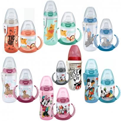 Kit Copo de Bebê Active Cup Disney Baby 300ml +12 Meses com Copo de Treino Infantil Disney Baby 150ml +6 Meses - Nuk