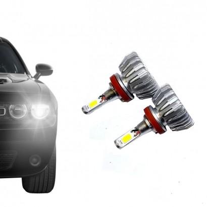 Kit Lampadas Led 3D Carro H27 6000K 12~24V H-Tech