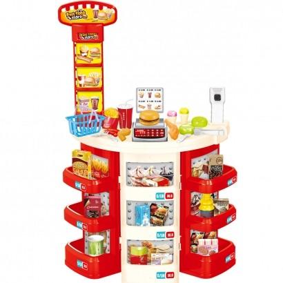 Kit Supermercado Infantil Brinquedo Casinha Criança Infantil Importway