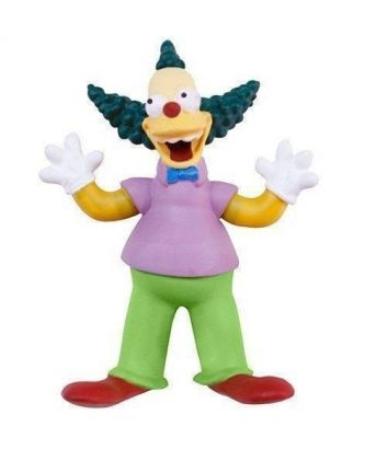 Krusty Palhaço Simpsons Chaveiro Top Collection BR499