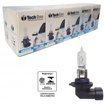Lampada Super Branca Carro 9005 55W 12V Tech One