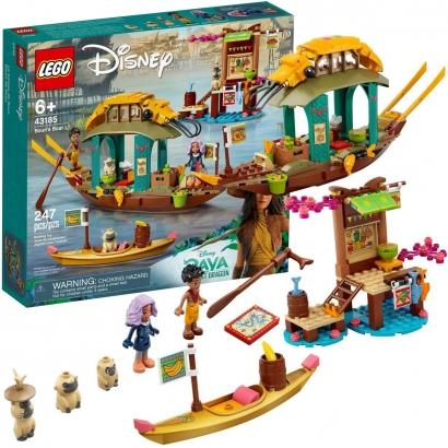 Lego Disney O Barco de Boun com 247pçs +6 Anos - Raya e o Último Dragão