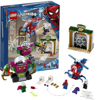 Lego Super Heroes Infantil A Ameaça de Mysterio 163 Peças +4 Anos