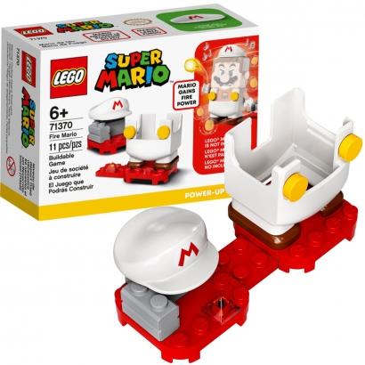 LEGO Super Mario - Pacote Powe Up Mario de Fogo 11 peças Para +6 Anos 71370