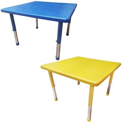 Mesa de Criança Para Atividades A Partir de 1 Ano 60x60x40cm - Brinqway