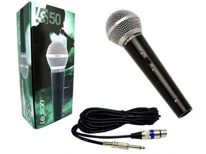 Microfone Com Fio LeSon LS 50 Dinâmico