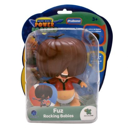 Mini Beat Power Rockers Bubble Head FUZ Com Som BR996
