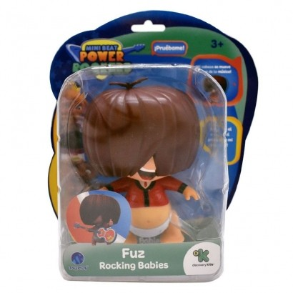 Mini Beat Power Rockers Bubble Head FUZ Com Som BR996