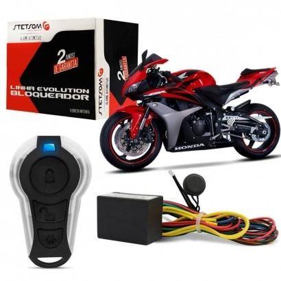 Mini Bloqueador Stetsom Mini Block para Moto com 1 Controle Presença