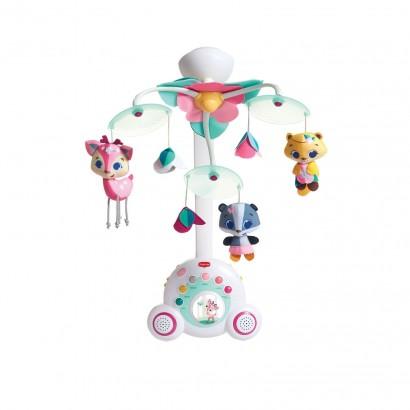 Mobile do Bebe Para Berços c/ Músicas Soothe Groove Princess - Tiny Love
