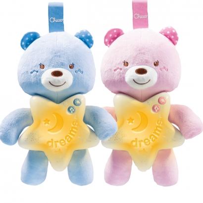 Móbile Ursinho de Pelúcia Com Som E Iluminação Música Clássica A partir do Nascimento Goodnight Bear Chicco