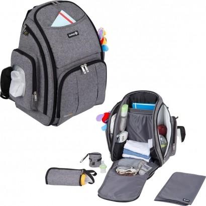Mochila de Bebe Multifuncional Maternidade Black Pack Safety 1st