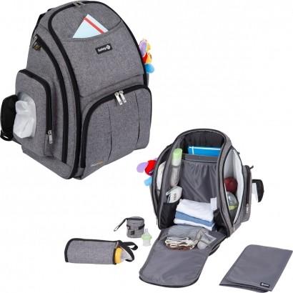 Mochila Maternidade Multifuncional Back Pack Safety 1st Cinza