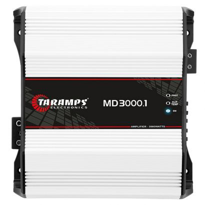 Módulo Amplificador Digital Taramps Smart 3 Classe D 1 Canal 3000 Watts RMS 2 Ohms Som Automotivo