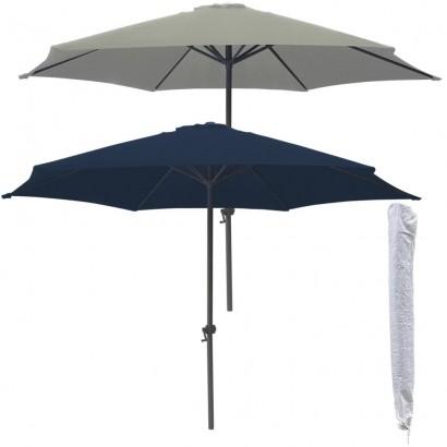 Ombrelone Guarda-Sol Modelo Central Com Cobertura de 2,70m + Capa