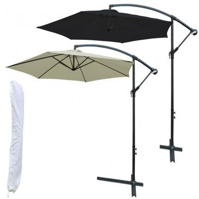 Ombrelone Guarda- Sol Modelo Suspenso Articulado Com Cobertura de 3m + Capa