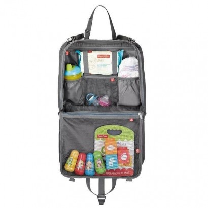 Organizador Para Carro Com Compartimento Tablet Fisher Price BB318