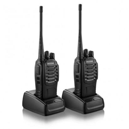 Par De Rádio Comunicador Multilaser 8km Walkie Talkie Tv003